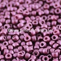 10GR MATUBO Czech Glass Seed Beads 8/0 (3mm) - COLOURS PASTEL BORDEAUX 02010/25032