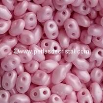 50GR MINIDUO® 2X4MM GLASS COLOURS PASTEL AQUAMARINE 02010/25019