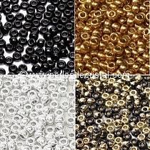 BASIC COLOURS : JET / SILVER / GOLD<br />