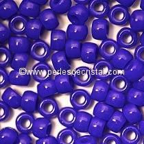 10GR MATUBO Czech Glass Seed Beads 7/0 (3.5mm) COLOURS OPAQUE SAPPHIRE 33050 - BLUE