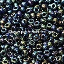 10gr SEED BEADS MIYUKI 11/0 - 2MM COLOURS METALLIC VARIEGATIED BLUE IRIS 455