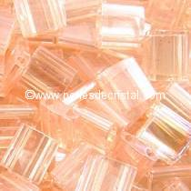 5GR TILAS MIYUKI 5X5MM GLASS BEADS COLOURS LIGHT PINK LUSTER TL-0365