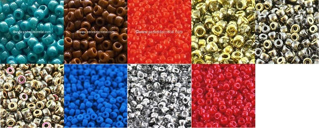 DISCOVERY OFFER: 10 COLORS MATUBO 8/0 - 3MM