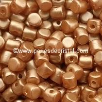 5GR BEADS MINOS® BY PUCA® 2.5X3MM COLOURS PASTEL AMBER 02010/25003
