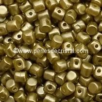 5GR BEADS MINOS® BY PUCA® 2.5X3MM COLOURS PASTEL LIME 02010/25021