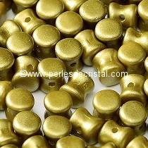 50 PELLETS / DIABOLO 4X6MM GLASS COLOURS COLOURS PASTEL LIME - 02010/25021