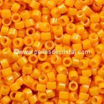 5gr SEED BEADS MIYUKI DELICA 11/0 - 2MM COLOURS OPAQUE SQUASH DYED DB0651