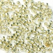 5gr SEED BEADS MIYUKI DELICA 11/0 - 2MM DURACOAT GALVANIZED SILVER - DB1831